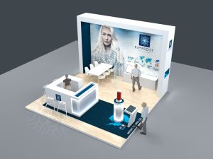Messestand Rimfrost