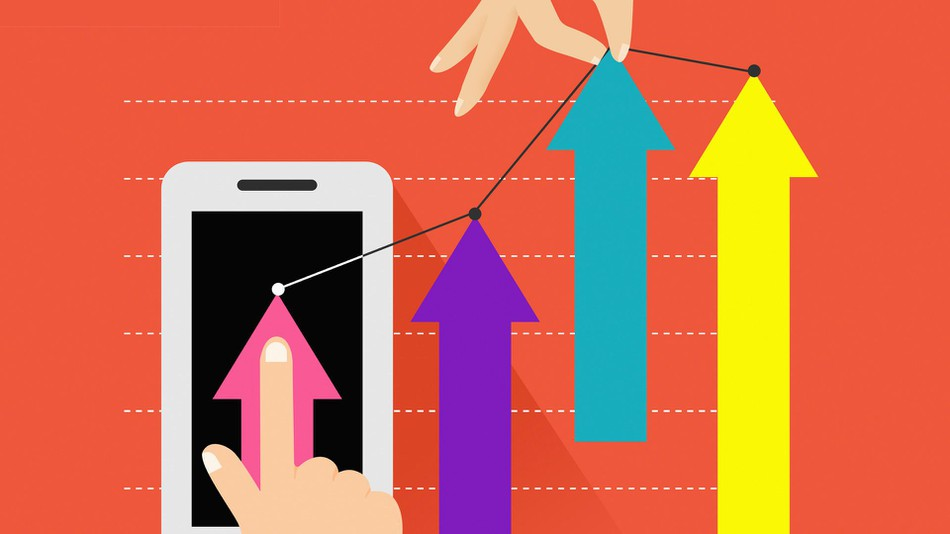 Mobilhandelen øker