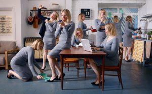 Kvinner som multitasker