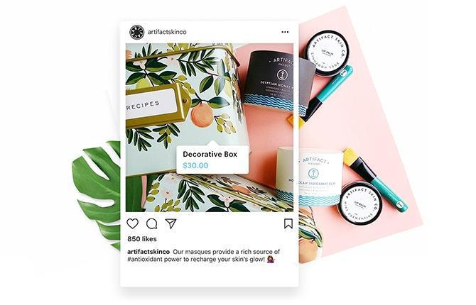 Instagrams shoppingfunksjon